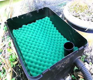 Filters voor de vijver biologisch filter for Filter voor vijver