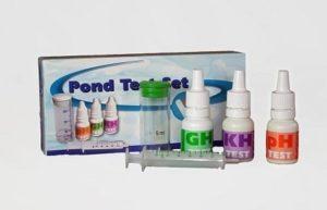 testen waterwaarden vijver GH KH pH