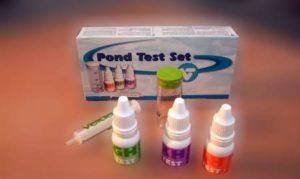 Vijverwater testen: testset vijver
